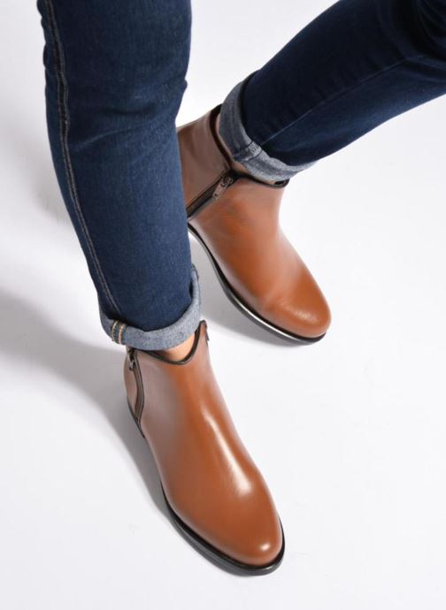 Ankle boots PintoDiBlu Andreala Blue view from underneath / model view