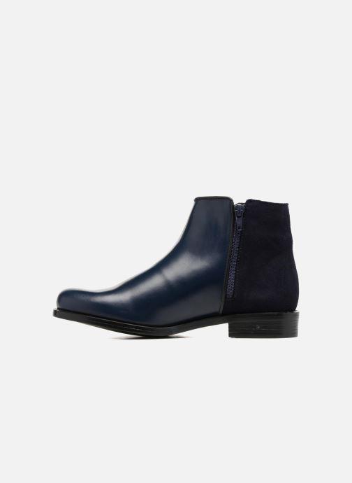 Bottines et boots PintoDiBlu Andreala Bleu vue face