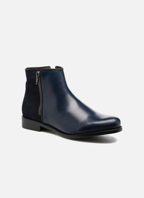 Ankle boots PintoDiBlu Andreala Blue detailed view/ Pair view