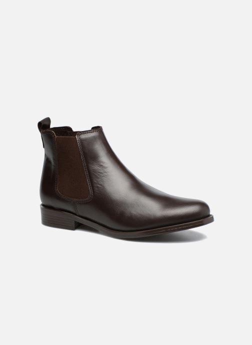 Boots en enkellaarsjes PintoDiBlu Coralina Bruin detail