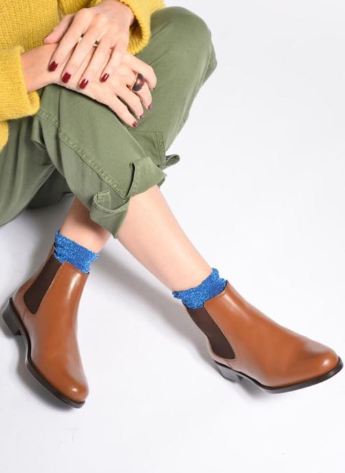 Bottines et boots PintoDiBlu Coralina Noir vue bas / vue portée sac