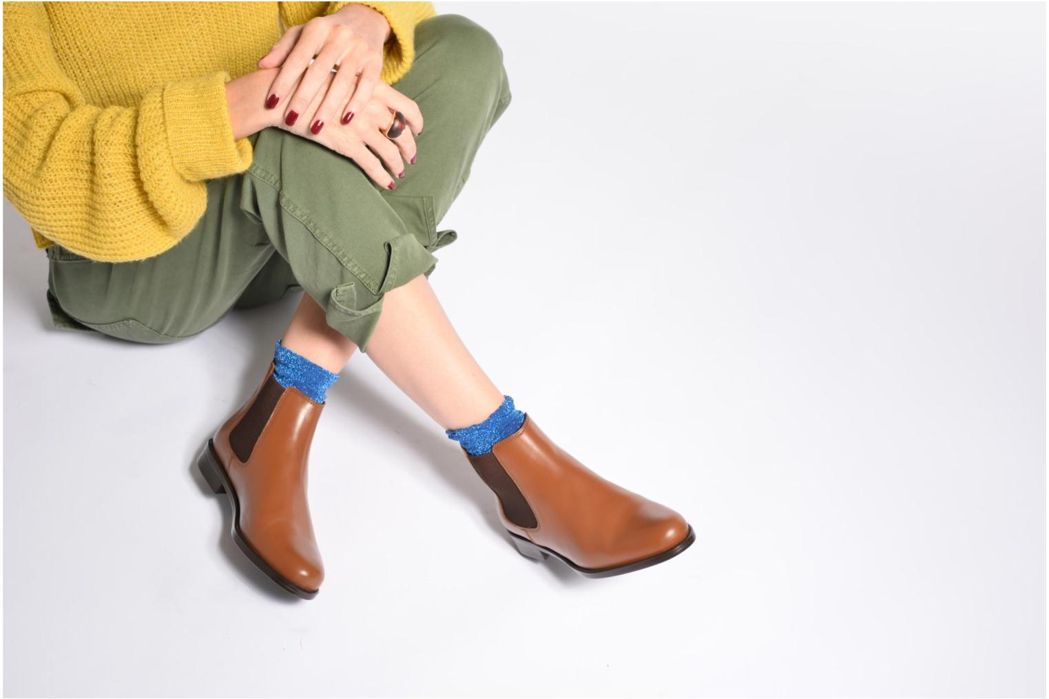 Ankle boots PintoDiBlu Coralina Blue view from underneath / model view
