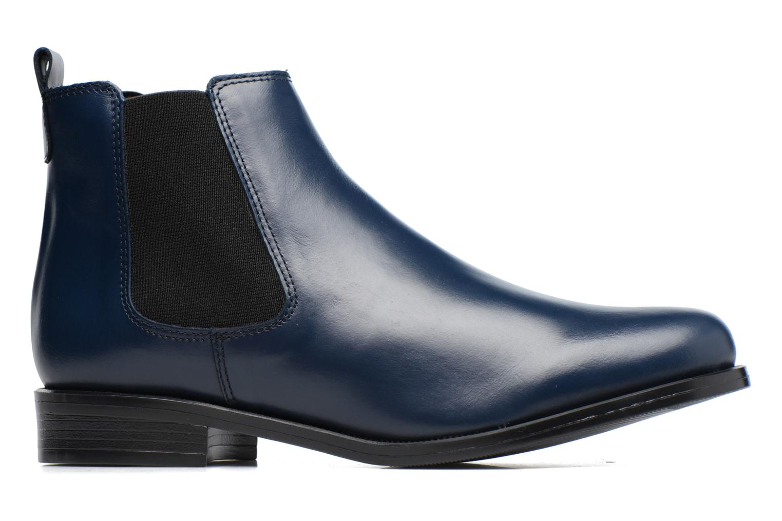 Ankle boots PintoDiBlu Coralina Blue back view