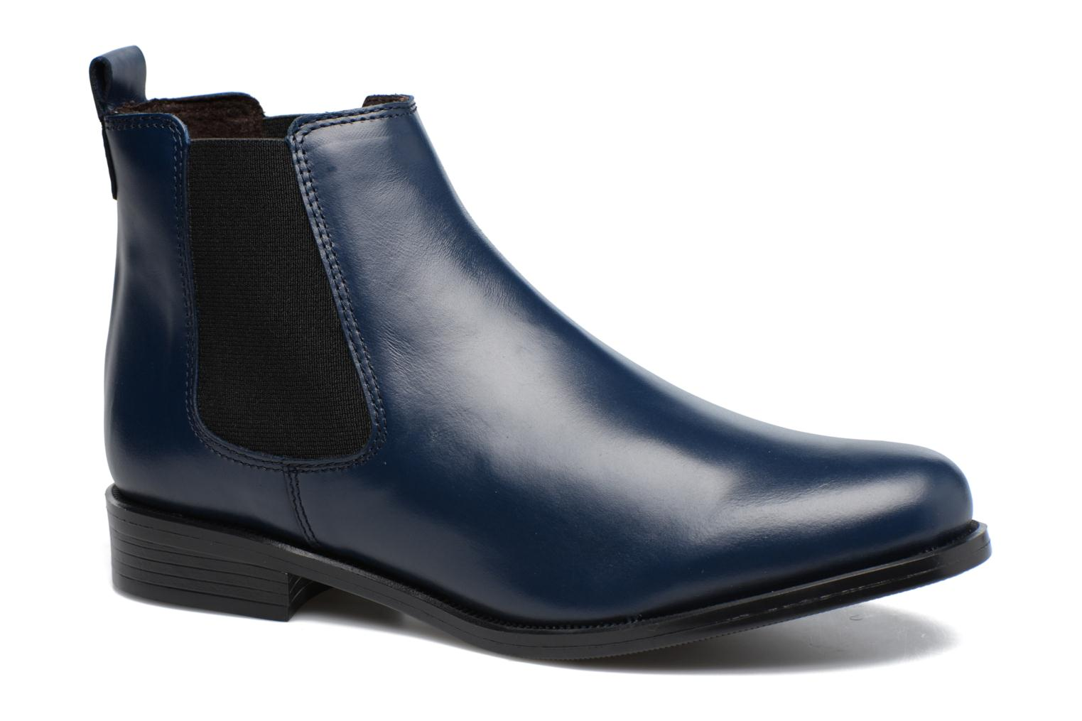 Ankle boots PintoDiBlu Coralina Blue detailed view/ Pair view