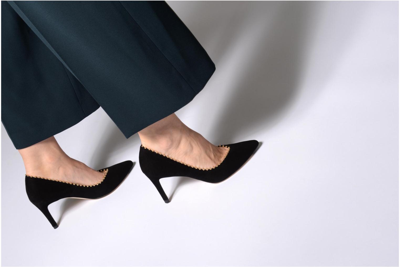 High heels L.K. Bennett Fifi Black view from underneath / model view