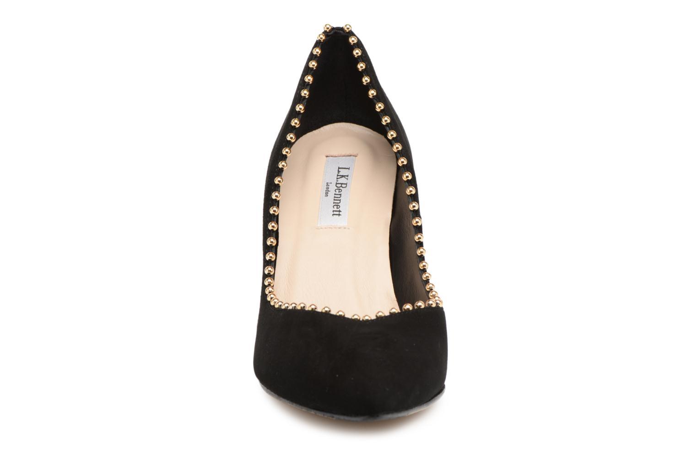 High heels L.K. Bennett Fifi Black model view