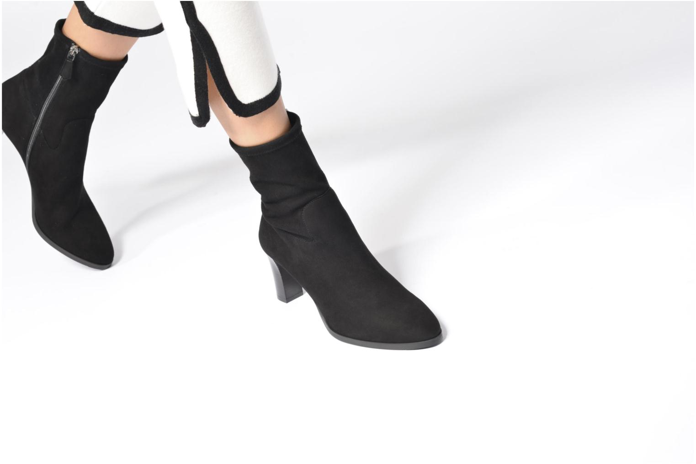 Bottines et boots L.K. Bennett Kayla Noir vue bas / vue portée sac