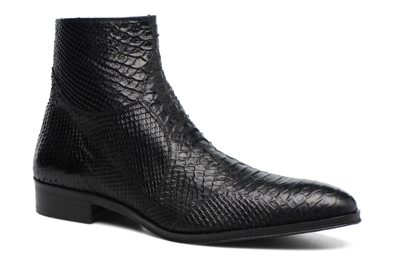 Boots en enkellaarsjes Brett & Sons Adrien Zwart detail