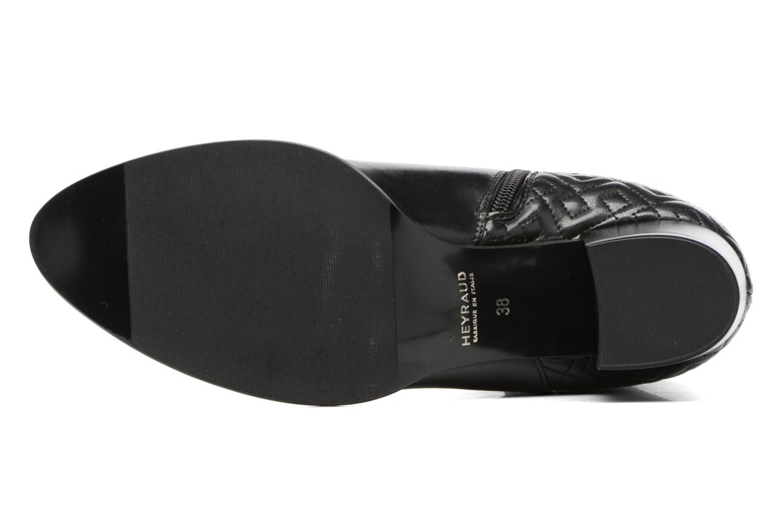 Bottines et boots Heyraud FILIPINE Noir vue haut