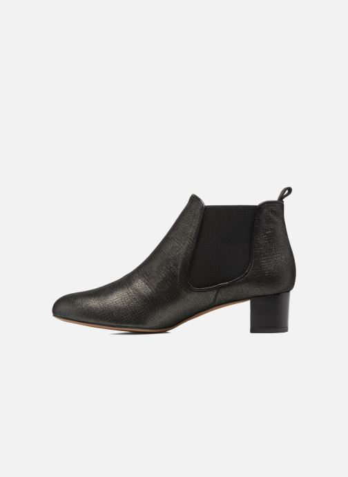 Ankle boots Heyraud SOLANTA Black front view