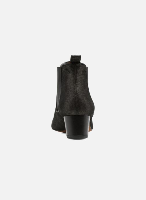 Ankle boots Heyraud SOLANTA Black view from the right