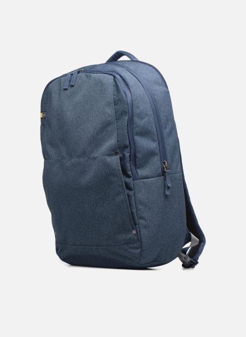 """Sacs ordinateur Case Logic Huxton Backpack 15,6"""" Bleu vue portées chaussures"""