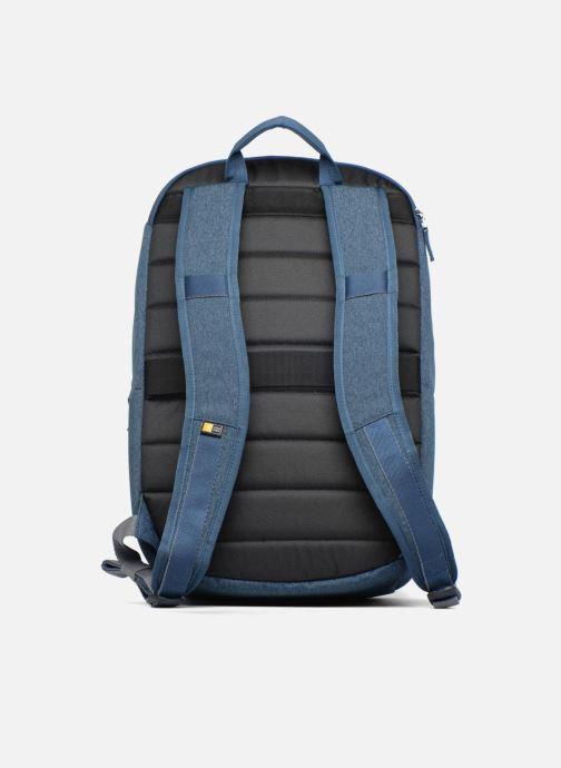 """Maletín de ordenador Case Logic Huxton Backpack 15,6"""" Azul vista de frente"""