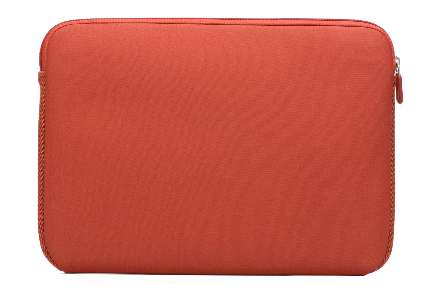 "Petite Maroquinerie Case Logic EVA-foam 13""  Notebook Sleeve, slim-line, Brick Rouge vue face"