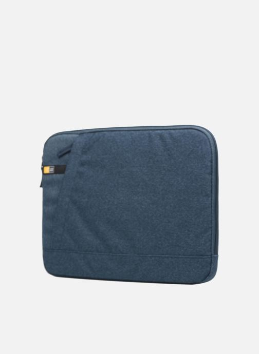 "Wallets & cases Case Logic Case logic Huxton Sleeve 13"" Blue Navy Black model view"