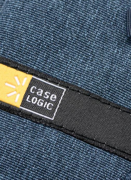 """Marroquinería pequeña Case Logic Case logic Huxton Sleeve 13"""" Blue Navy Negro vista lateral izquierda"""