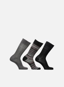Socks & tights Accessories Gift Box chaussettes crew unies et rayures lot de 3