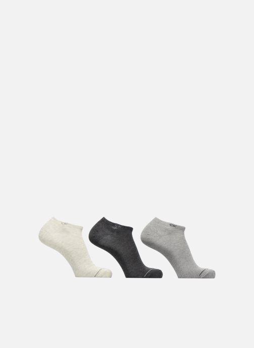 Sokken en panty's Calvin Klein Lot de 3 paires de chaussettes sport courtes Grijs detail