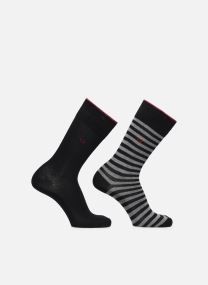 Chaussettes crew rayures pack de 2