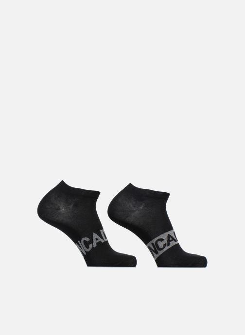 Socks & tights Calvin Klein Chaussettes no show logo Calvin Klein pack de 2 Black detailed view/ Pair view