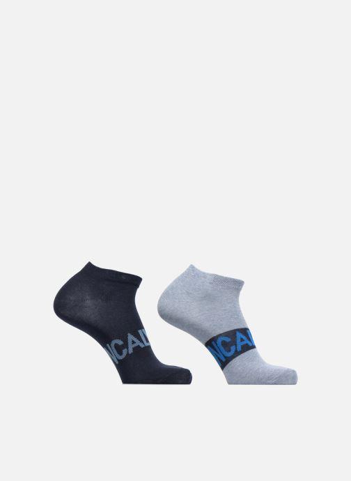 Chaussettes et collants Calvin Klein Chaussettes no show logo Calvin Klein pack de 2 Gris vue détail/paire