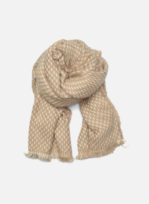 Echarpes et Foulards Esprit Dot structured scarf 65X200 Beige vue détail/paire