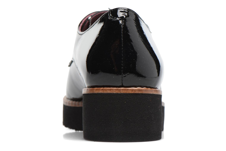 Chaussures à lacets HE Spring Lana Noir vue droite