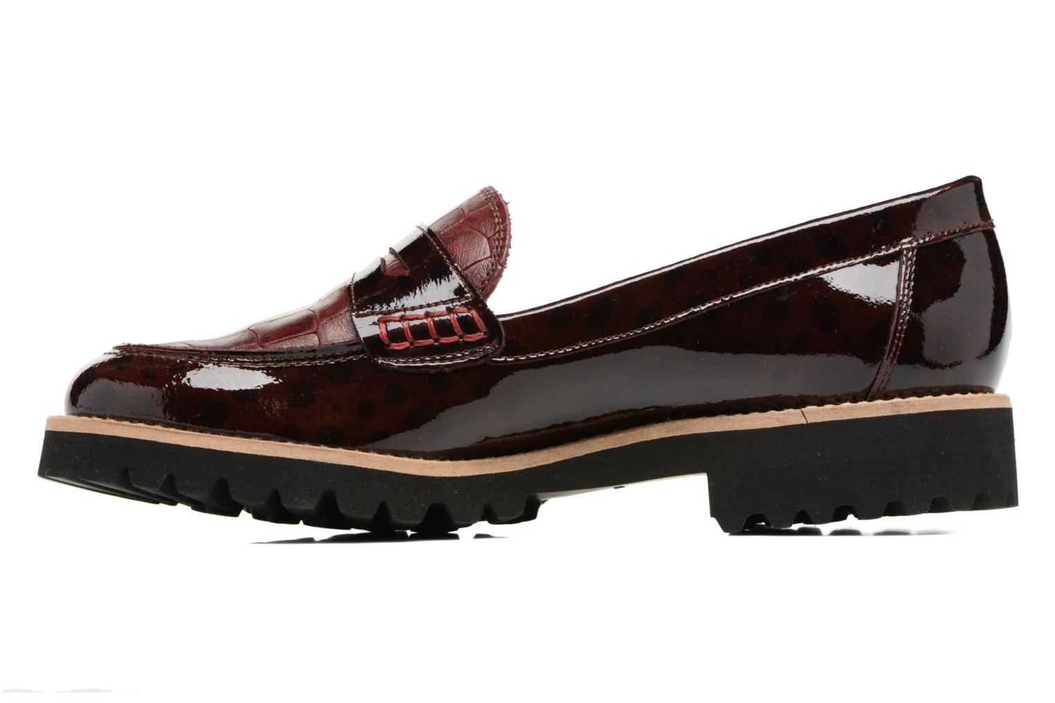 Loafers HE Spring Lulu Burgundy front view