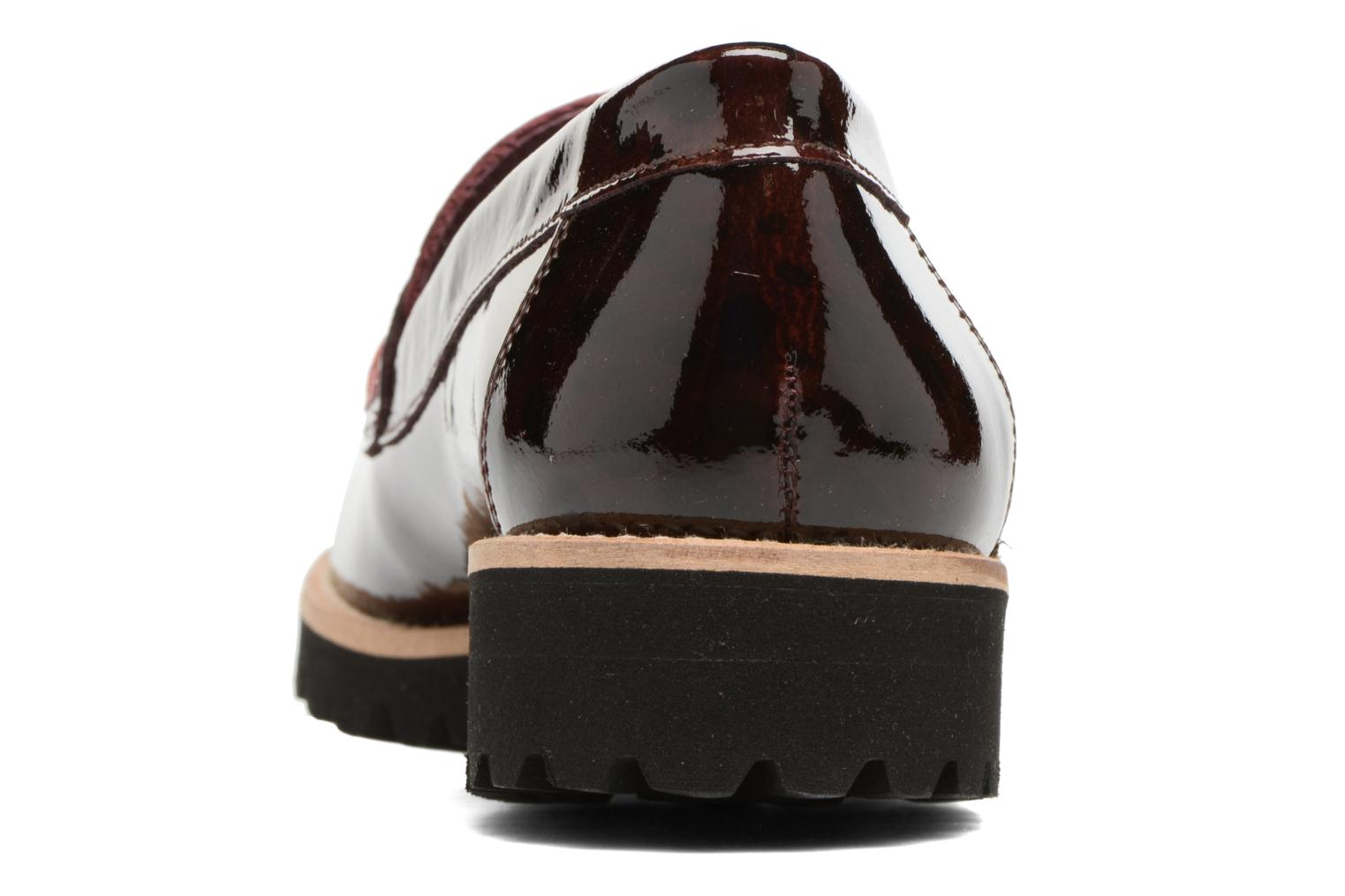 Loafers HE Spring Lulu Burgundy view from the right