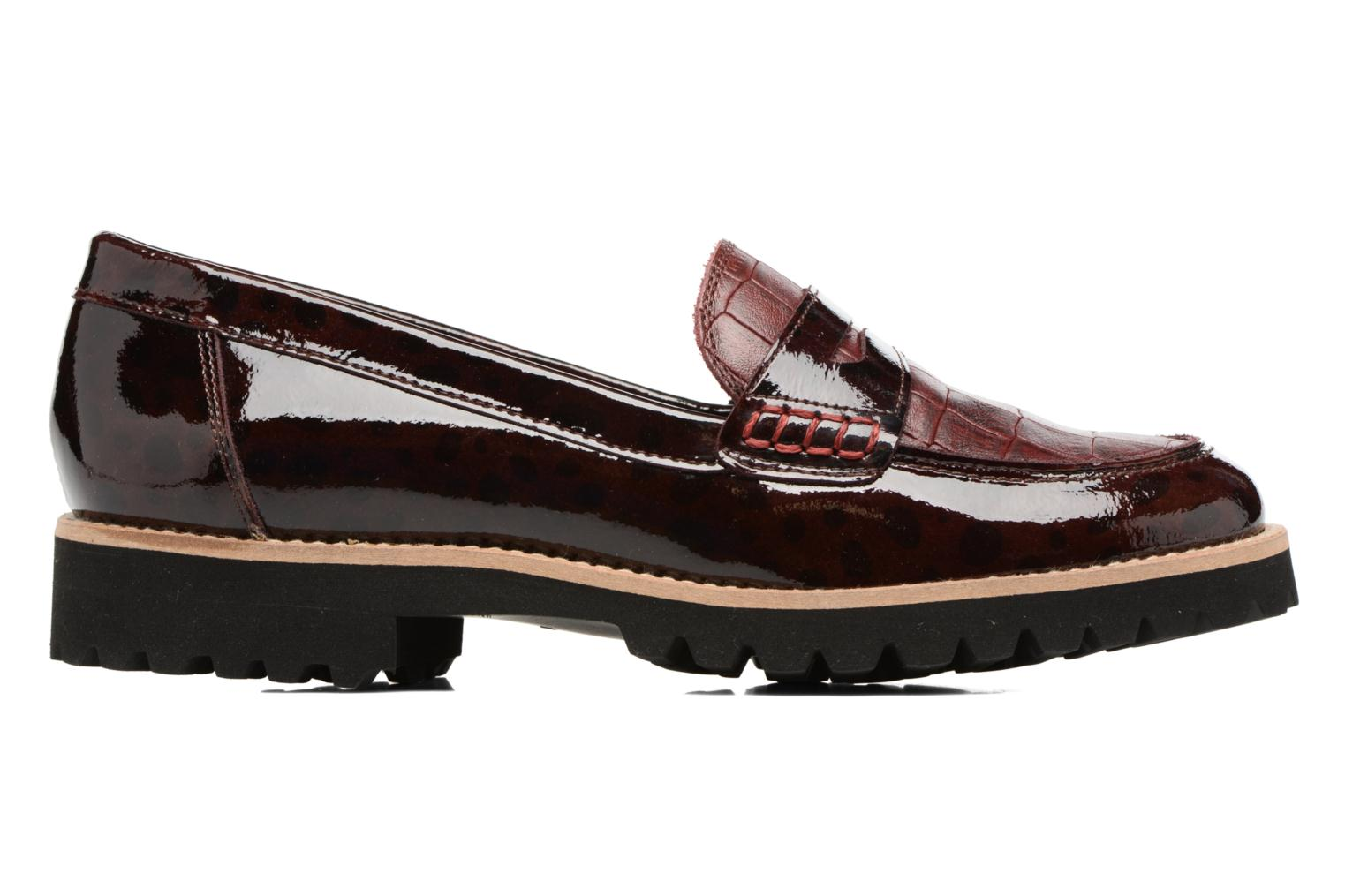 Loafers HE Spring Lulu Burgundy back view