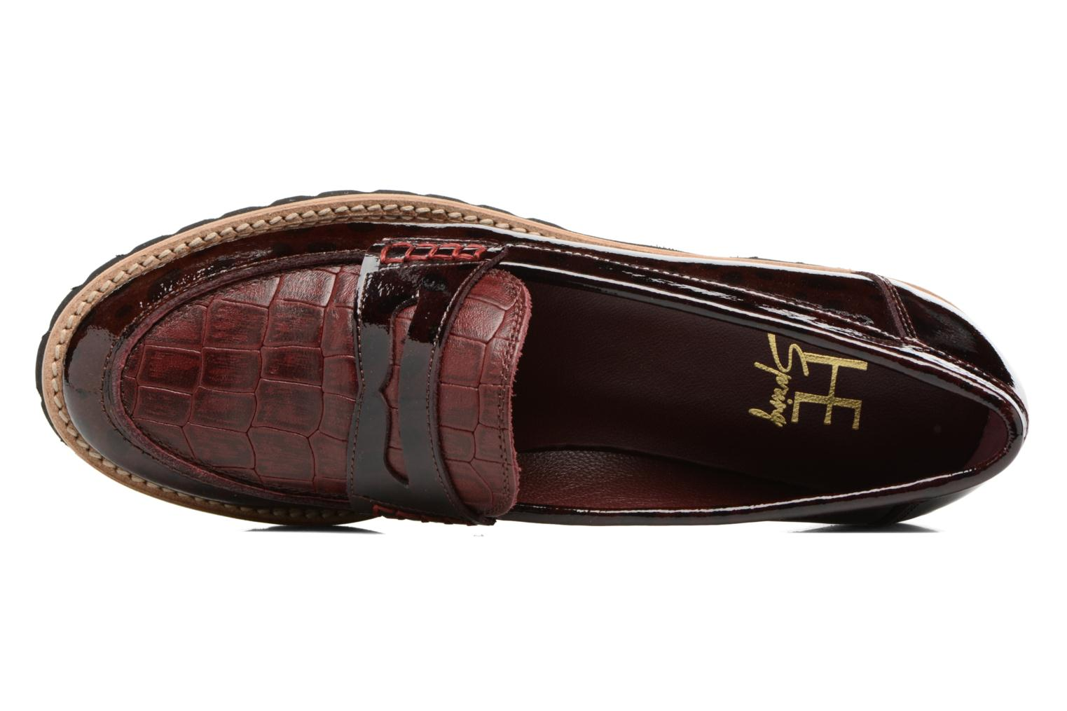 Loafers HE Spring Lulu Burgundy view from the left