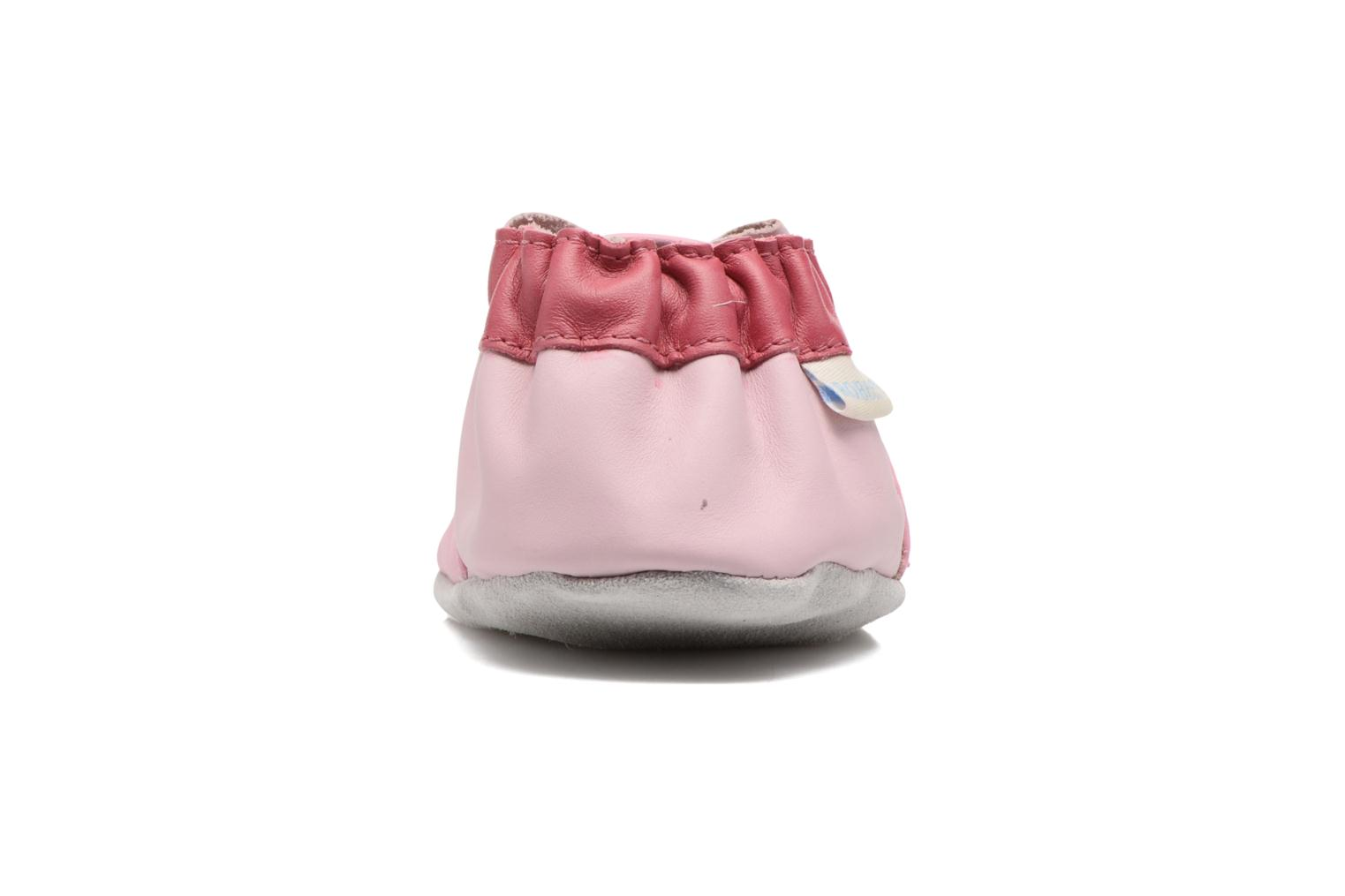 Chaussons Robeez Aoki Rose vue droite