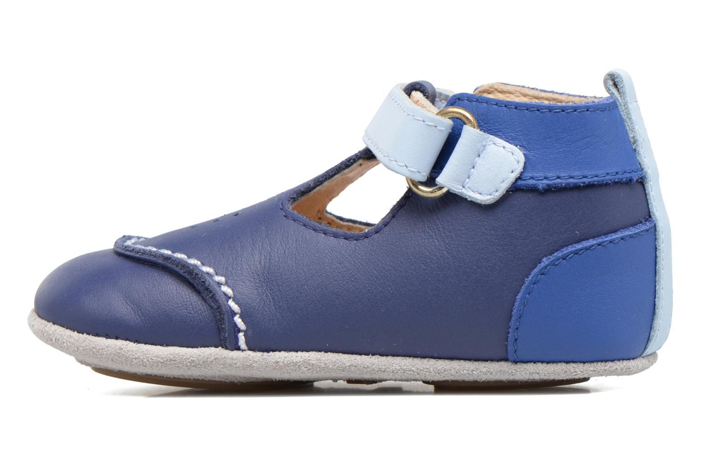 Pantoffels Robeez Salomon Blauw voorkant