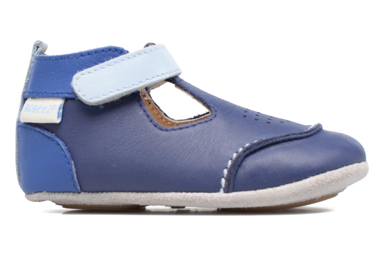 Pantoffels Robeez Salomon Blauw achterkant