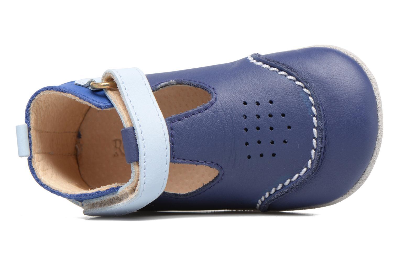 Pantoffels Robeez Salomon Blauw links