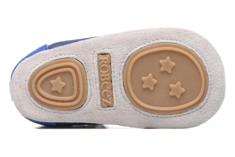 Pantoffels Robeez Salomon Blauw boven