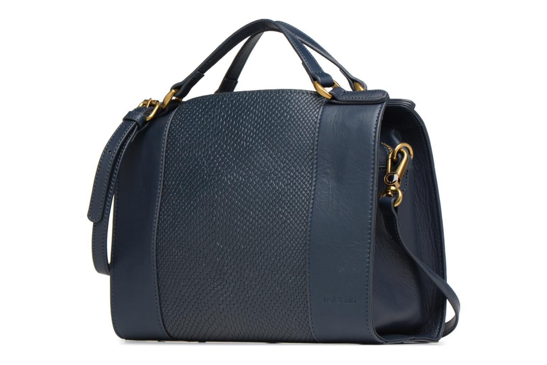 Handtaschen Nat & Nin Louise blau schuhe getragen