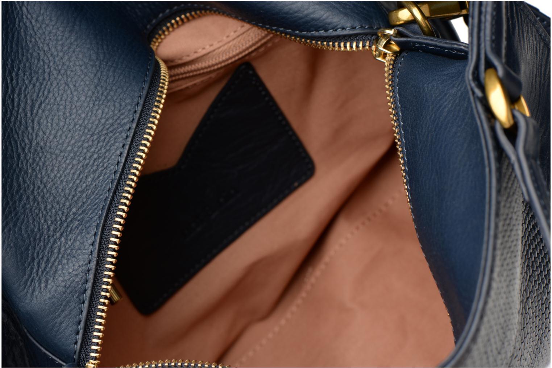 Handtassen Nat & Nin Louise Blauw achterkant