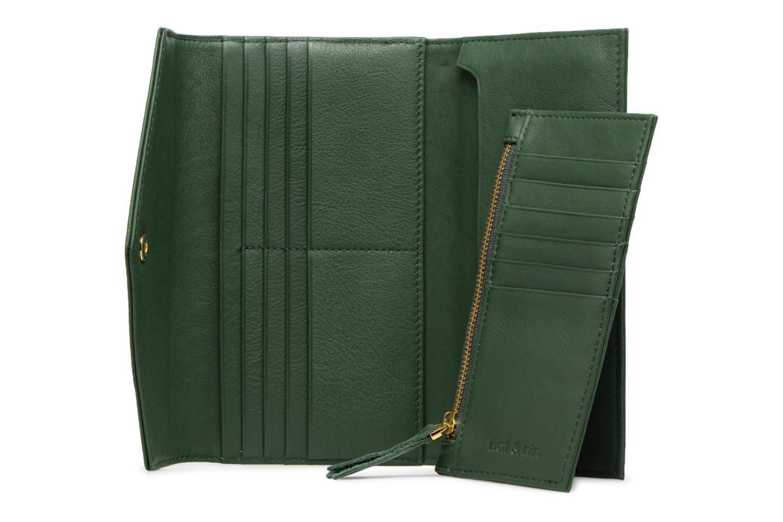 Portemonnaies & Clutches Nat & Nin Noa grün ansicht von hinten