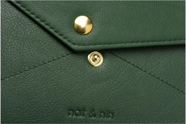 Portemonnaies & Clutches Nat & Nin Noa grün ansicht von links