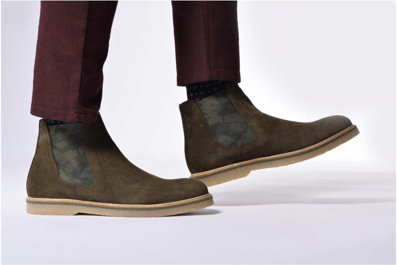 Bottines et boots Mr SARENZA Sperry Vert vue bas / vue portée sac