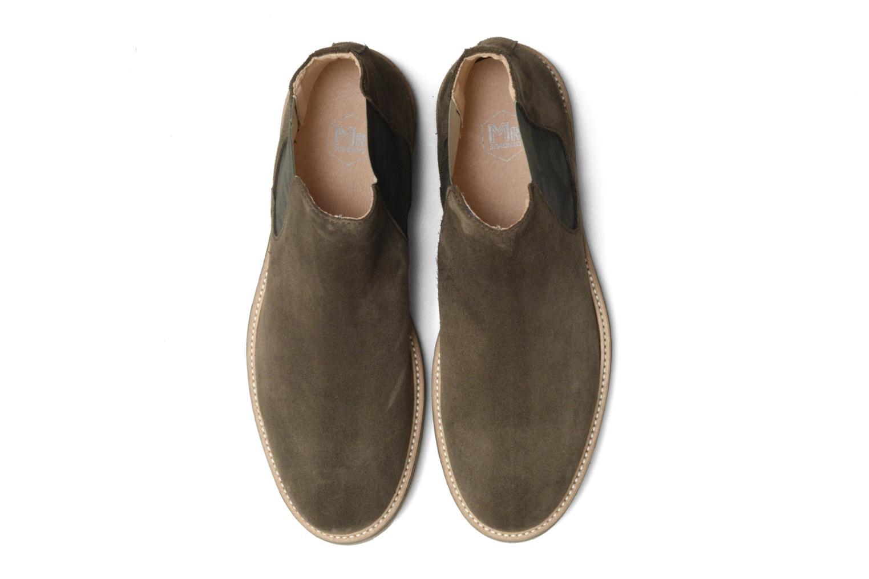 Bottines et boots Mr SARENZA Sperry Vert vue portées chaussures
