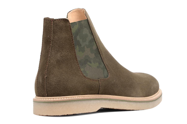 Bottines et boots Mr SARENZA Sperry Vert vue face