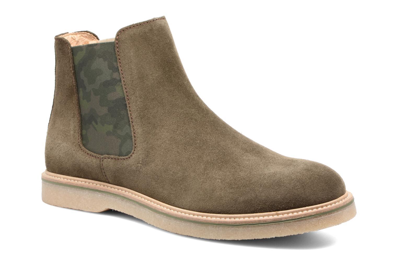 Bottines et boots Mr SARENZA Sperry Vert vue droite