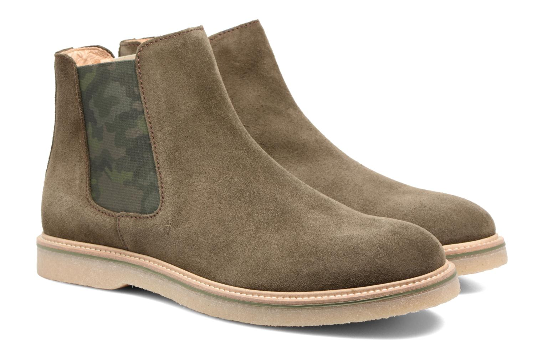 Bottines et boots Mr SARENZA Sperry Vert vue derrière