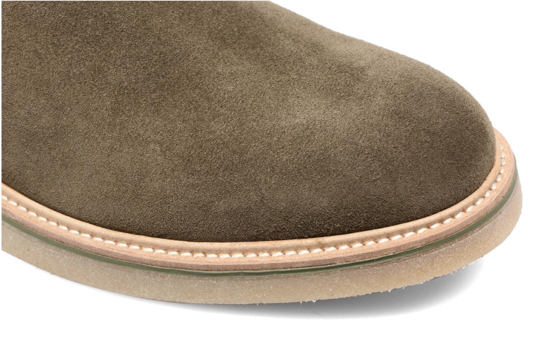 Bottines et boots Mr SARENZA Sperry Vert vue gauche