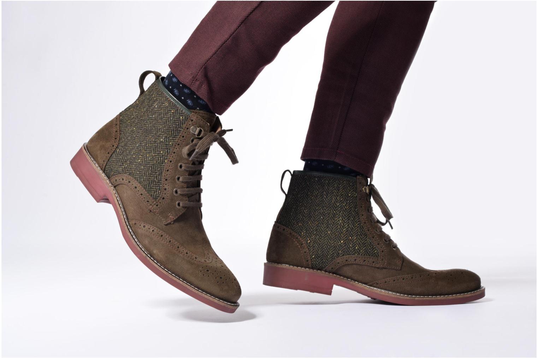 Boots en enkellaarsjes Mr SARENZA Spoling Groen onder