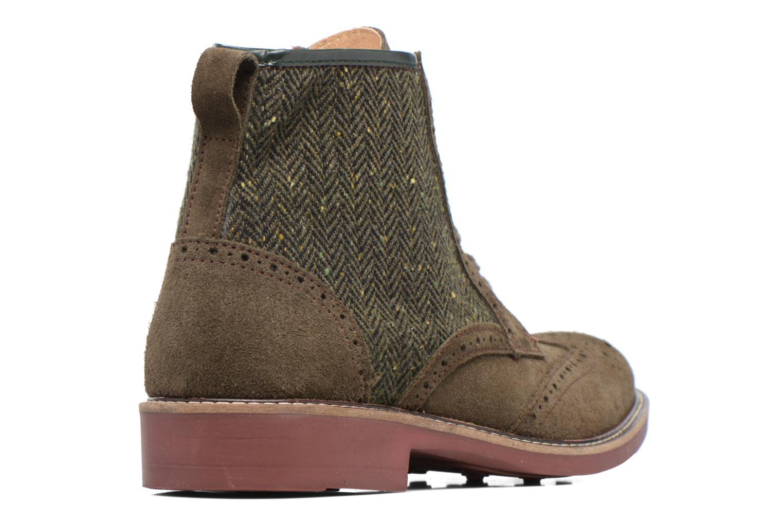 Boots en enkellaarsjes Mr SARENZA Spoling Groen voorkant