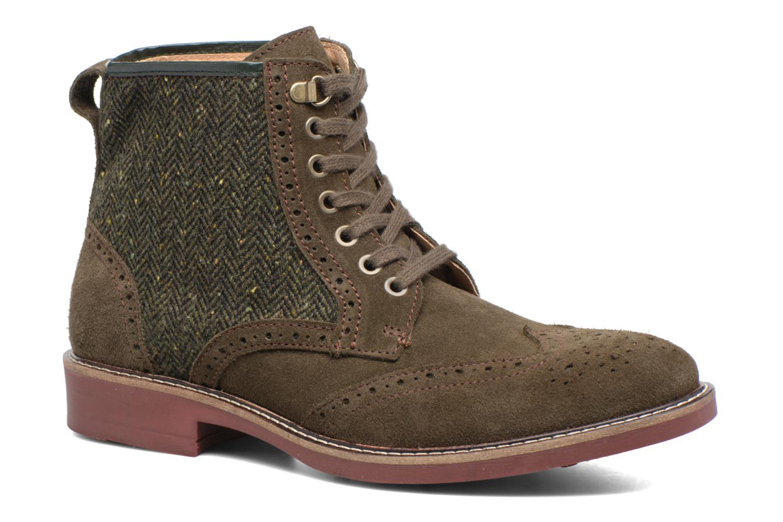 Boots en enkellaarsjes Mr SARENZA Spoling Groen rechts