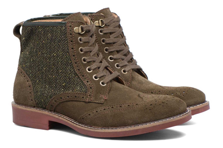 Boots en enkellaarsjes Mr SARENZA Spoling Groen achterkant